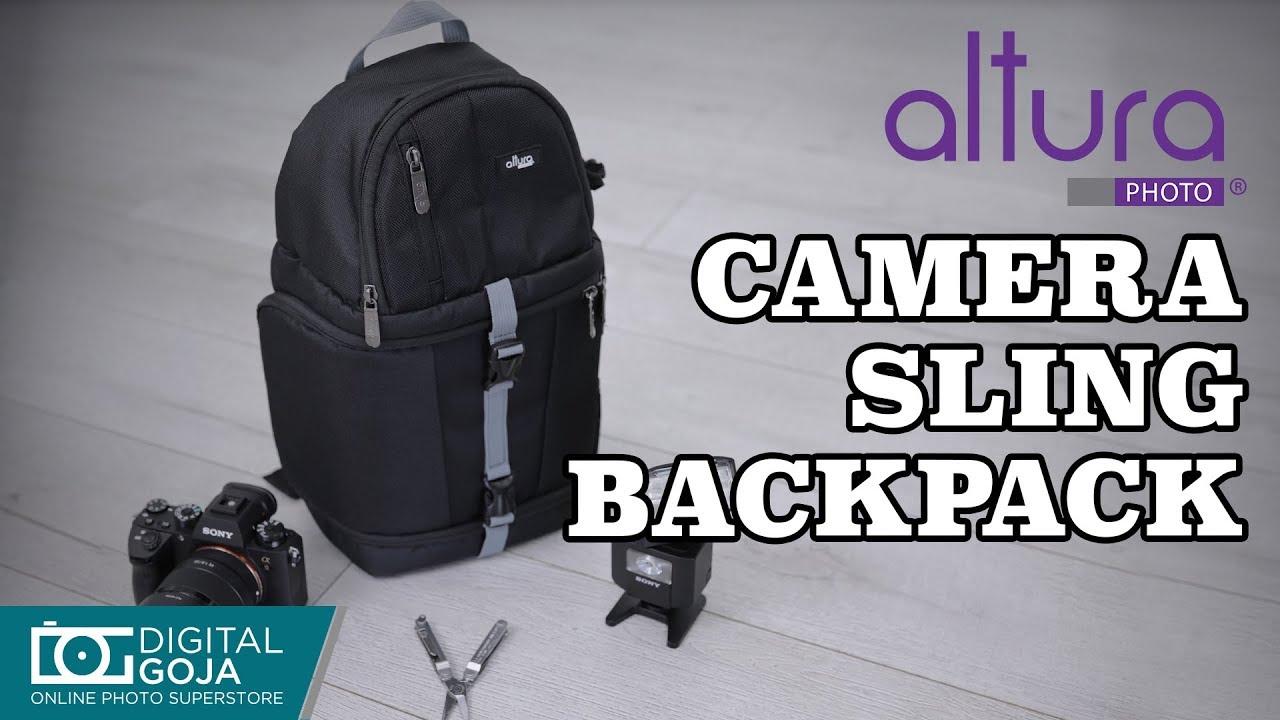 Camera Sling Backpack For Dslr And Mirrorless Cameras Lenses