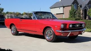 1966 Ford Mustang GT Convertible K Code HiPo Classic Muscle Car for Sale in MI Vanguard Motor Sales