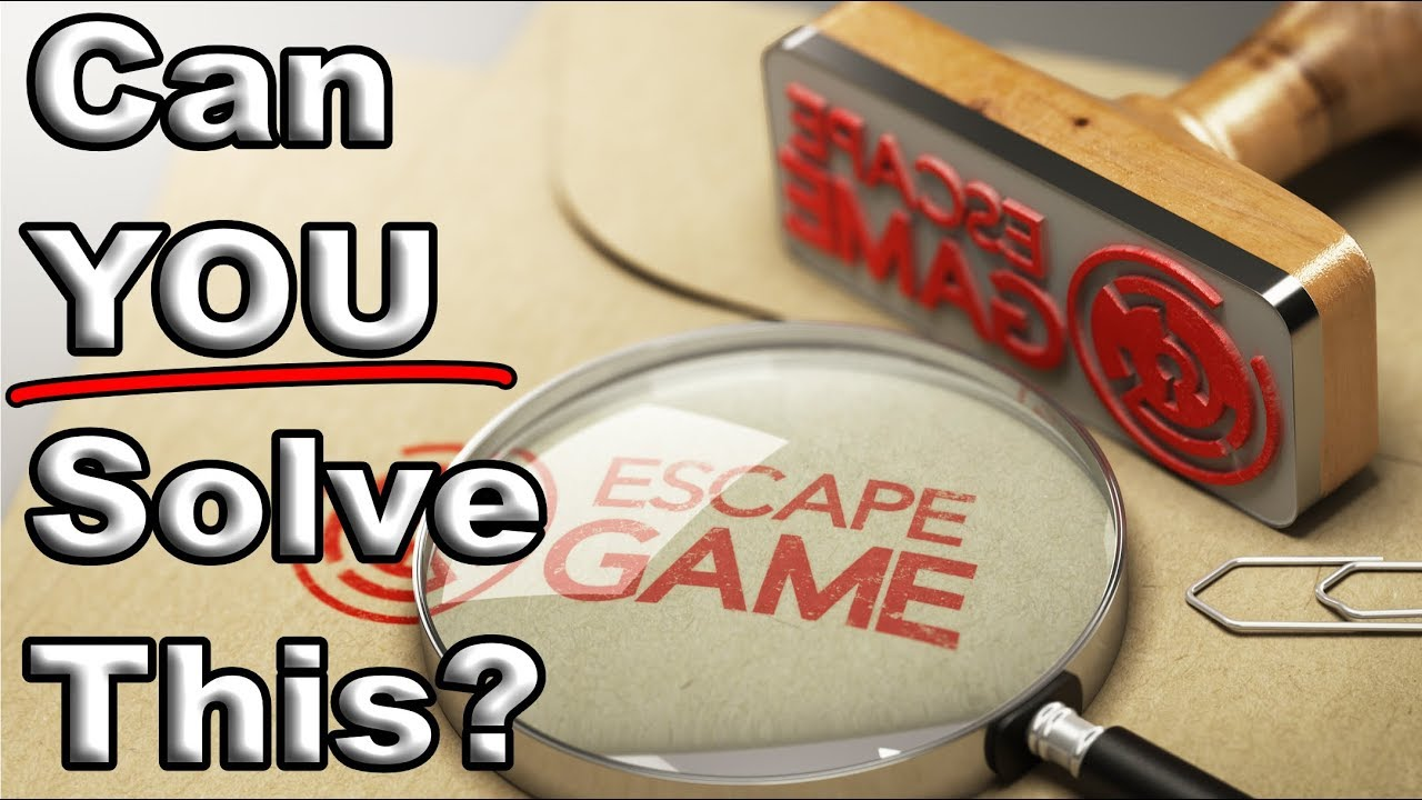 graphic about Free Printable Escape Room Puzzles named This Video clip IS an Escape Place Puzzle! Can yourself Remedy it?