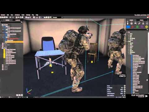 Tutorial: Eden 3D Editor Making AI Sit [Arma 3]