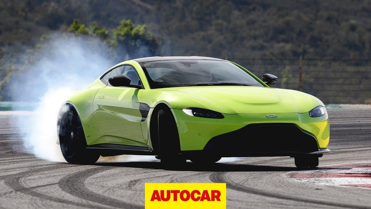 Aston Martin Vantage 2018 Review Porsche 911 Rival Driven