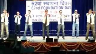 Railway Staff College : Emotionless PT Dance_AFP 2012 Batch.wmv