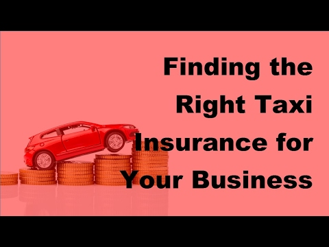 2017 Hire Taxi Insurance Tips | Insuring Public And Private Hire Taxi