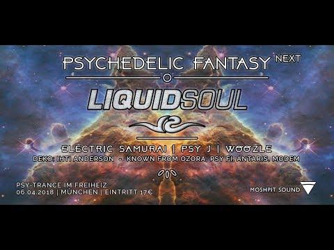 Live Set -opening set @ Psychedelic Fantasy-Muchen Germany 06-04-2018