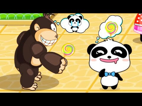 Baby Panda Safety Tips - Kids Learn Safety Prevention -  Educational Game For children and toddlers