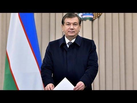 Uzbekistan election: acting president expected to win easily