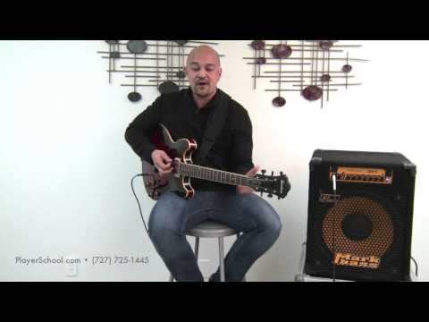 Guitar Lesson - Spread Triads Fretboard Exercise - The Players School of Music