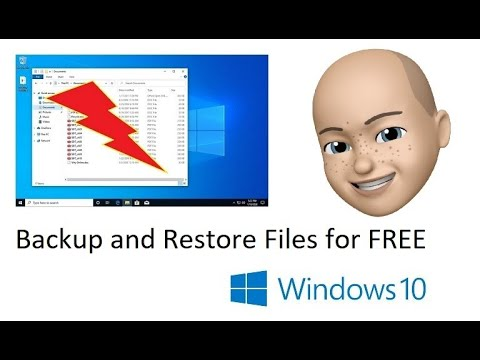 Backup And Restore Files For FREE In Windows 10