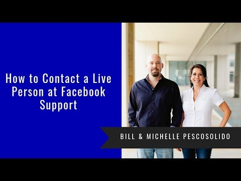 How To Contact A Live Person At Facebook For Support