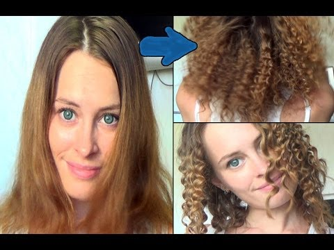 Как накрутить волосы карандашом и утюжком