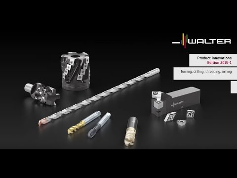 Precision tools product innovations 2016-1 turning, drilling, threading, milling - Walter Tools