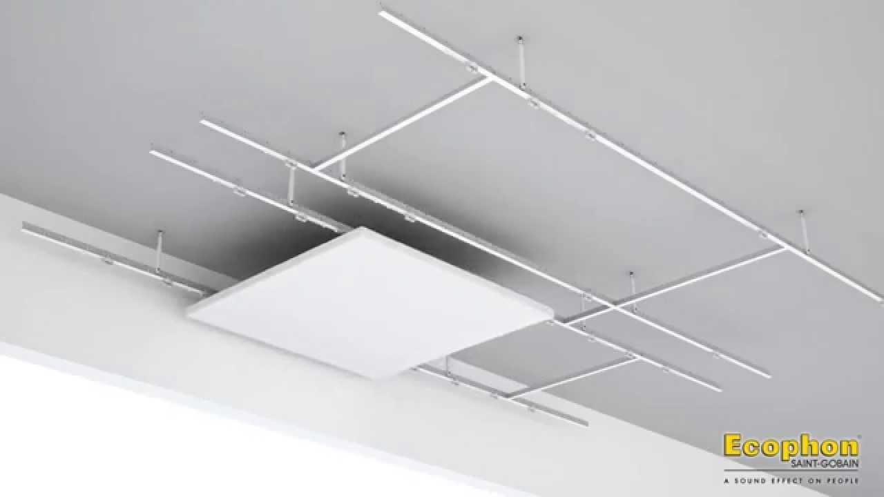 ecophon master matrix akoestisch plafondsysteem voor. Black Bedroom Furniture Sets. Home Design Ideas