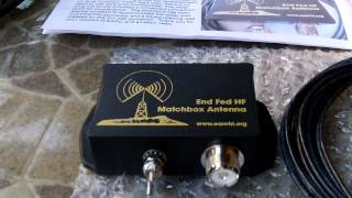 end fed 6 40 meter multiband hf antenna