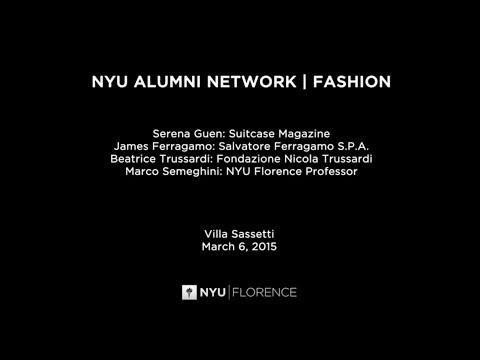 NYU Florence - NYU ALUMNI  / FASHION
