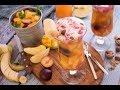 فطير و عصير - طريقة تحضير  فطيرة اللحم الضاني و الخضروات مع مشروب فخفخينا الفواكه - �