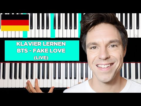 BTS - Fake Love - Piano Tutorial - LIVE!