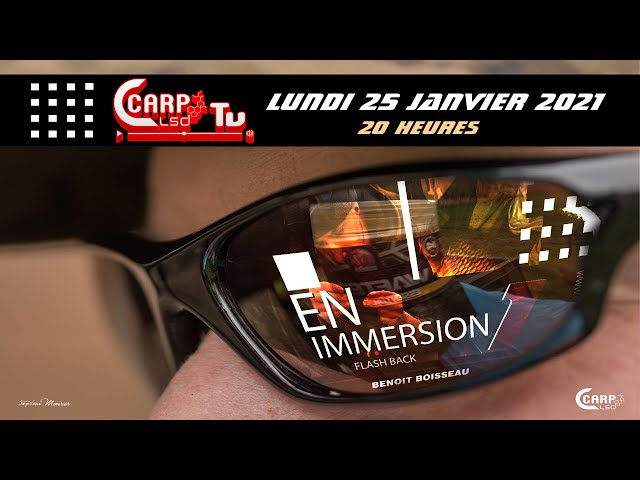 TEASER IMMERSION1 CARPLSD  TV AVEC BENOIT BOISSEAU