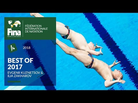 Evgenii Kuznetsov & Ilia Zakharov made history in 3m Synchro | Best of FINA 2017