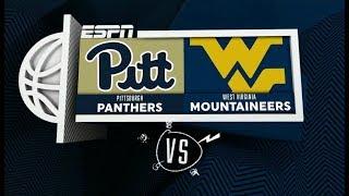 NCAAB 2018 12 08 Pittsburgh at West Virginia 720p60
