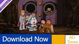 Download Doraemon The Movie Nobita & The Kingdom of Robot Singham In Hindi AG Media Toons