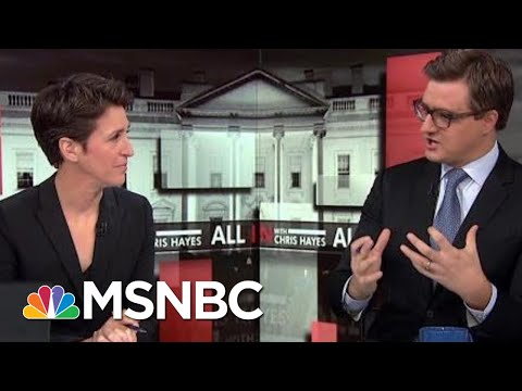 Rachel Maddow Joins Chris Hayes To Preview President Trump's Oval Office Address | All In | MSNBC