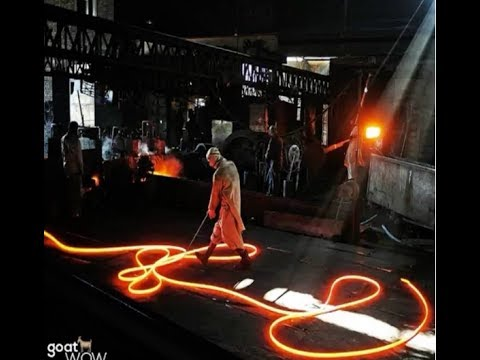 ou are unhappy with your job.. Then Watch This.. [Chinese Steel Mill Burn Safety]