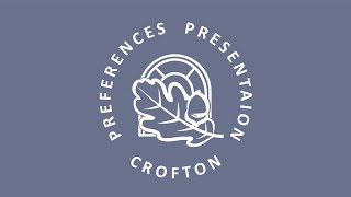 Preferences Presentation