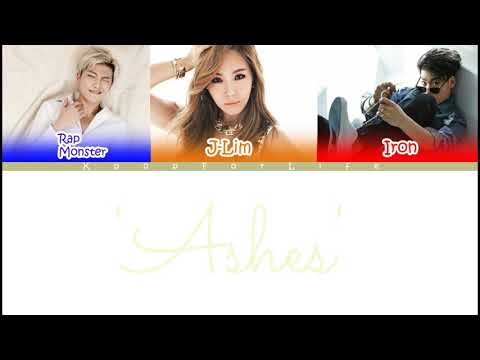 J-Lim (Ft. Rapmon & Iron) 'Ashes' Color Coded Lyrics [Han|Rom|Eng]