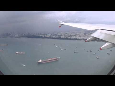 Flight BA11 landing in Singapore, December 2015