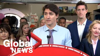 Canada Election: Justin Trudeau makes remarks in Whitby, Ont. | FULL