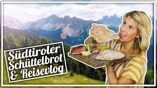 So macht man Südtiroler Schüttelbrot   Rezept &  Reisevlog Südtirol   Felicitas Then