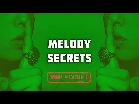MELODY SECRETS: MY MELODY SECRET😲 | How To Make Melodies Without Hearing Them 🤐👂