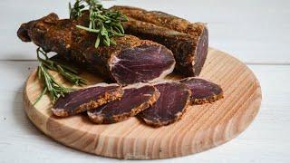 Баструма из свинины — видео рецепт