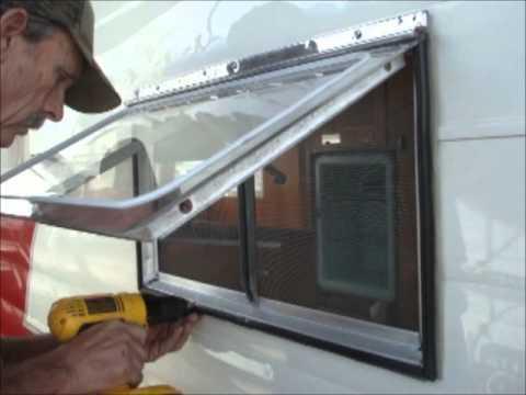 Restoring The Shasta Part 18f Installing A Hehr Window