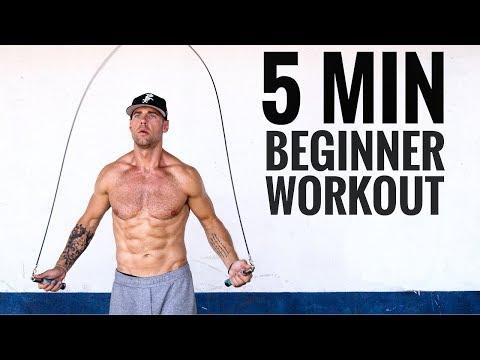 5 Min Beginner Jump Rope Workout