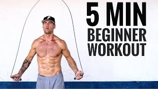 5 Min Beginner Jump Rope Workout