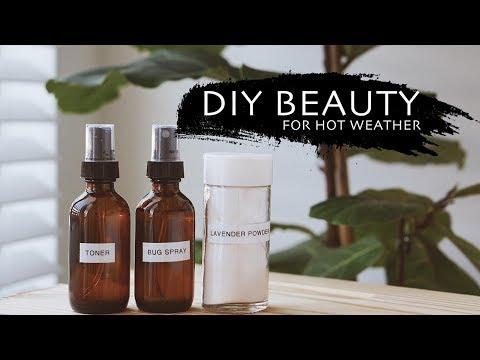 NATURAL HOMEMADE BEAUTY DIY RECIPES | SPRING SKINCARE