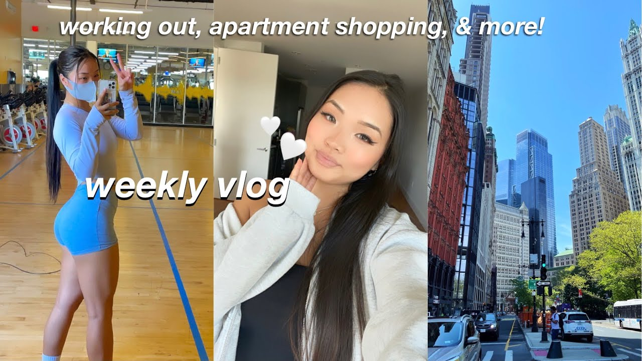 *productive* day in my life VLOG | leg workout, apartment decor shopping, & doing errands!
