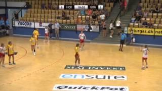 U16 girls final at Generation Handball. Handball club of Kopavogur vs GOG