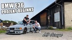 VOM WINTERAUTO ZUM SHOW FAHRZEUG | LB GARAGE E36 | feat. Hagen Amstep