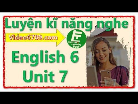 ❇️ Luyện kĩ năng nghe Tiếng Anh 6 Unit 7 Television - Sách thí điểm || Listening Test Store
