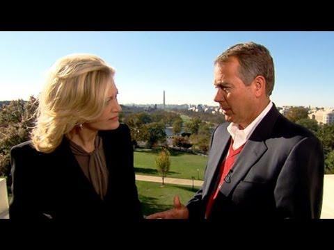 House Speaker John Boehner Discusses Working With President Obama