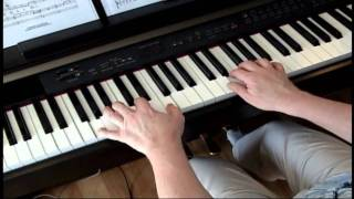 Up Down and Touch the Ground - Winnie the Pooh - Piano