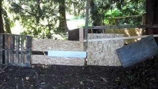 Airsoft Fort With Hidden Entrance (viewer Suggested)