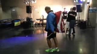 Backpack dance ISBO Speedminton® World Championships 2015