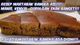 RESEP MARTABAK MANIS BANGKA ASLI. DIJAMIN ANDA PASTI BISA MEMBUATNYA!!!