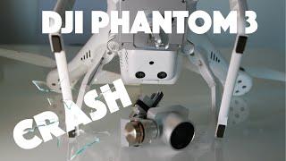 DJI Phantom 3 Pro crash | Drone wedding crash | DJI Spark Crash