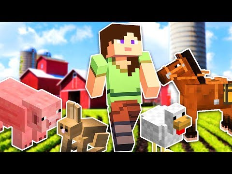 BUILDING OUR FARM!! - MINECRAFT w/ MY BOYFRIEND