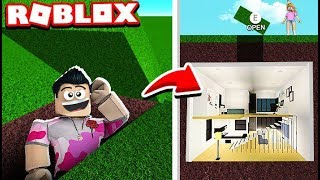 ¡PUEDE MI SISTER ENCONTRAR MI *SECRET* BASE!! (Roblox Bloxburg)