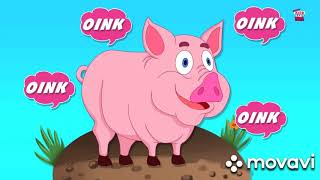 Звук животные | учим звук животных| детские рифмы| детская песня | 1 час без остановки